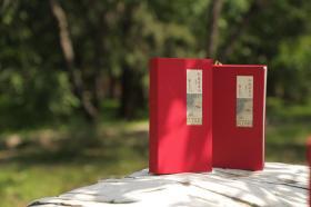 【预售 】红楼梦日历2022年(茶事版)赠《红楼梦诗词口袋书》&《红楼人物关系表曹雪芹简谱》 2021.11.20左右开始发货