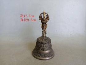 乡下收的清代老铜法器铃铛