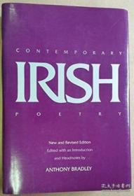 Contemporary Irish Poetry New And Revised Editon /Anthony Br