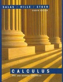 Calculus: One and Several Variables /Saturnino L. Salas John