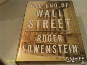 The End Of Wall Street /Roger Lowenstein Penguin Press