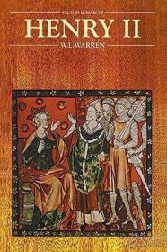 Henry Ii (english Monarchs) /W. L. Warren University Of Cali