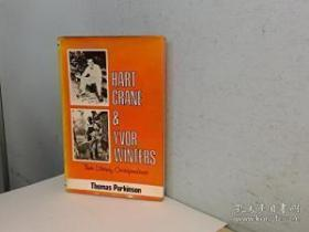 Hart Crane And Yvor Winters: Their Literary Correspondence /