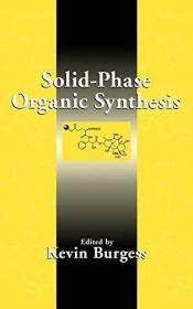 Solid-Phase Organic Synthesis /Burgess  Kevin Wiley-Intersci