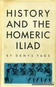 History And The Homeric Iliad (sather Classical Lectures) /D