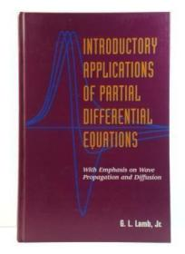 Introductory Applications of Partial Differential Equations: