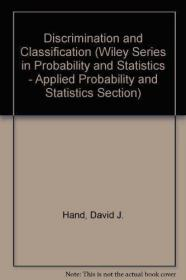 Discrimination and Classification /David J. Hand Wiley-Black