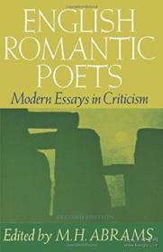 English Romantic Poets /H. M. Abrams Ed. Oxford University P