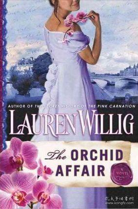 The Orchid Affair-兰花事件 /Lauren Willig Dutton Books