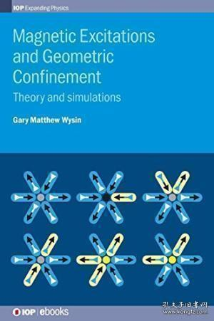 Magnetic Excitations and Geometric Confinement:Theory and simulations