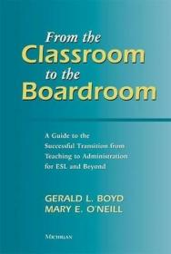 From The Classroom To The Boardroom