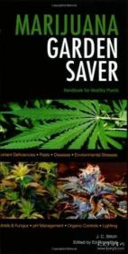 Marijuana Garden Saver-大麻花园储蓄者 /J. C. Stitch Quick American Ar...
