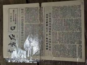 特殊时期广州报纸:《中学风暴 第四期》