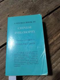 《A SOURCE BOOK IN CHINESE PHILOSOPHY》