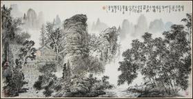 【游新民】江西南昌人 中国美术家协会理事,江西省美术家协会副主席兼秘书长 山水