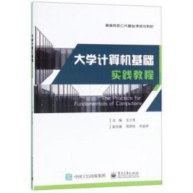 发货快! 大学生计算机基础 实践教程 王少杰,周颂伯,刘金祥 编