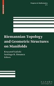 【包邮】Riemannian Topology and Geometric Structures on Manifolds