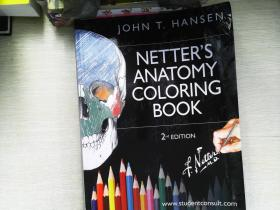 Netter's Anatomy Coloring Book 奈特解剖学练习册 第2版
