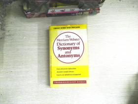 The Merriam-Webster Dictionary of Synonyms and Antonyms   书有水迹