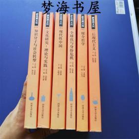 新思潮文档 6本(后现代主义  媒介哲学  全球化与身份危机   文化研究:理论与实践   知识分子与社会转型    现代性中国)