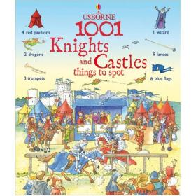 1001 Knights and Castle Things to Spot (1001 Things to Spot)找出1001个骑士与城堡(精装绘本)(3-6)岁
