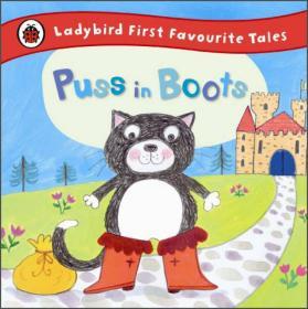 Ladybird first favourite tales: Puss in boots瓢虫童话系列:穿靴子的猫(精装绘本)(3-6岁)