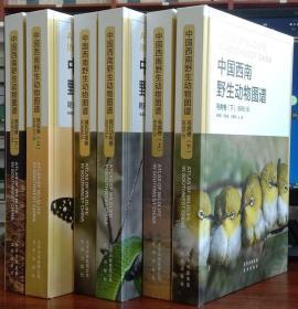 中国西南野生动物图谱:鸟类卷(上下册):昆虫卷(上下册):哺乳动物卷:爬行动物卷