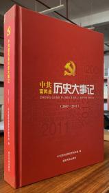 中共富民县历史大事记:2007-2017