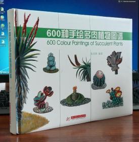 600种手绘多肉植物图谱