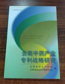 云南中药产业专利战略研究