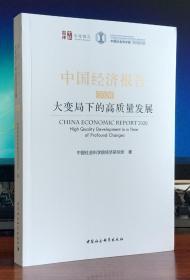 中国经济报告2020:大变局下的高质量发展