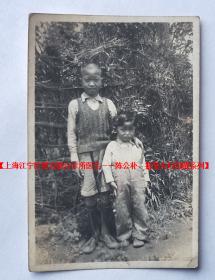 民国老照片:民国小孩 ——【上海江宁区第五联合诊所医生——陈公朴、振莹夫妇旧藏系列】