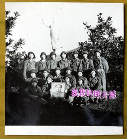 文革老照片:文革——解放军消防兵——忠于毛主席 【陌上花开系列】