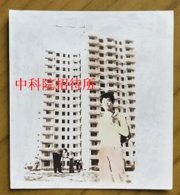 老照片:北京-中科院招待所,1982年,照片像是一幅水彩画 【桐阴委羽系列】