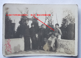 民国老照片:民国陈先生——学生时代,签名照 【上海江宁区第五联合诊所医生——陈公朴、振莹夫妇旧藏系列】