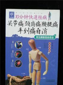 关节痛·颈肩痛·腰腿痛手到痛自消 10分钟快速祛病  常见病极简自愈法(天天健康系列)