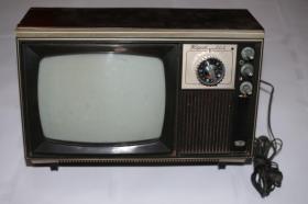 古董级9寸飞跃903型晶体管黑白电视机 怀旧七八十年代老物件