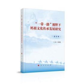 RT现货 视野下妈承发展研究(综合卷)9787010221427 神文化传播研究中国普通大众墨轩阁书屋