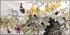 中国美术家协会会员、四川美术家协会副秘书长【梁时民】花鸟