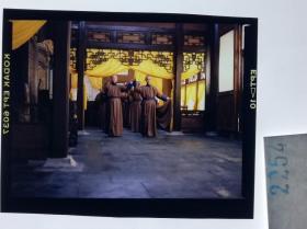 2254   古装 清宫类 慈禧 电影 明星 美女 剧照反转片姜文、刘晓庆、徐帆主演《大太监李莲英》1991年