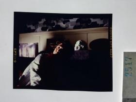 2517 警匪刑侦类 明星 美女 电影剧照反转片  《出生入死》  1990年 骷髅