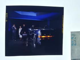 2520 警匪刑侦类 明星 美女 电影剧照反转片  《出生入死》  1990年   夜间接头