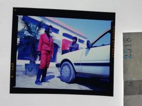 2518 警匪刑侦类 明星 美女 电影剧照反转片  《出生入死》  1990年