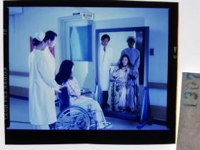 1307  电影明星 美女 剧照反转片  《泪洒台北》  1993年 病美人