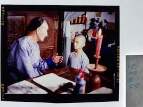 2245   古装 清宫类 慈禧 小德张故事改编电影 明星 美女 剧照反转片《太监秘史》1990年  王恩顺和小德张