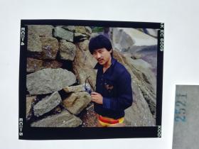 2521 警匪刑侦类 明星 美女 电影剧照反转片  《出生入死》  1990年
