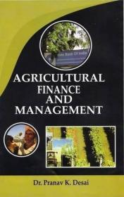 Agricultural Finance and Management