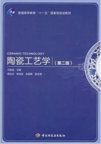 陶瓷工艺学(第二版第2版) 马铁成 中国轻工业出版社 9787501978229 正版旧书