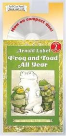 英文原版 I Can Read: Level 2: Frog and Toad All Year Book and CD