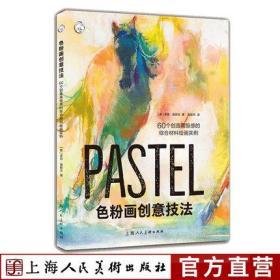 色粉画创意技法:60个创造高级感的综合材料绘画实例